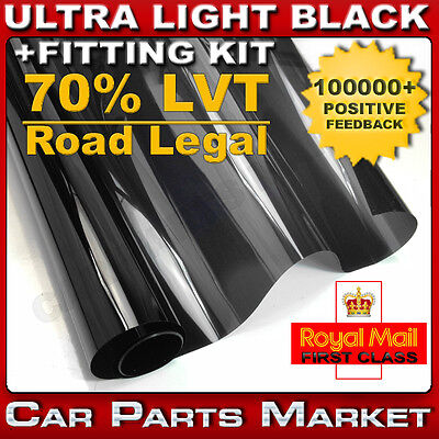 ULTRA LIGHT 70% CAR WINDOW TINT 3M x76CM FILM TINTING