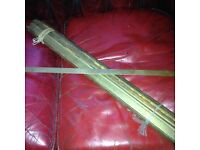 18 bronze and iron stair rods