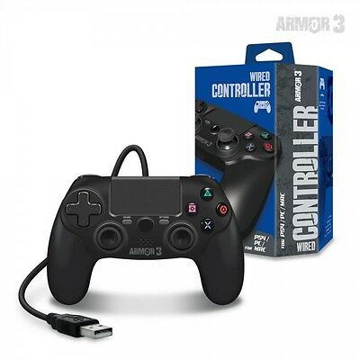 Wired Playstation 4, PS4 / PC Game Controller by Armor 3
