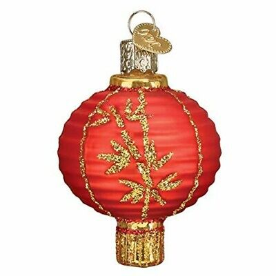 Old World Christmas 32405 Glass Blown Chinese Lantern Ornament