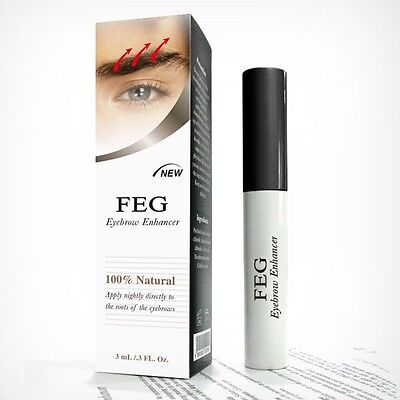 FEG Original 3ml Eyebrows Eyebrow Enhancer Brush Rapid Growth Serum Liquid