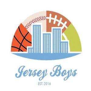 JERSEY BOYS- YOUR GO-TO SOURCE FOR SPORTSWEAR
