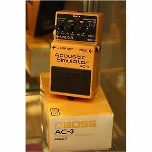 Boss AC-3 Acoustic Simulator in perfect condition