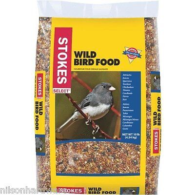 Stokes Select Wild Bird Food Bird Seed Milo Millet Corn Sunflower 10# Bag 530