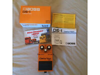 Boss DS-1 Guitar effects pedal, boxed, excellent condition