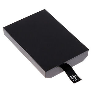 New 320GB HDD Hard Drive Disk for Microsoft Xbox 360 Slim UK Shipping