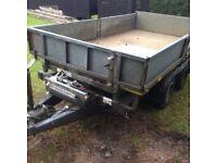 Tipper trailer I for Williams tt105