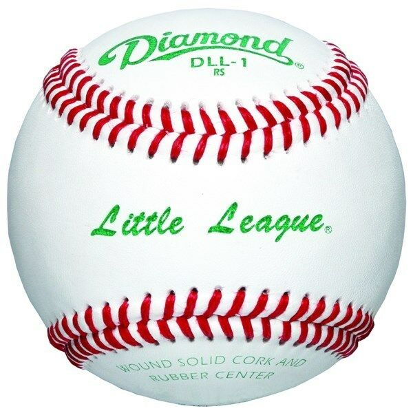 Diamond Little League Competition Grade Baseball, Dozen DLL-1