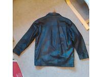 100% full leather mens fashion jacket