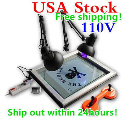 Uv Exposure Unit Screen Printing Plate Making Silk Screening Diy 20 X 24 Us