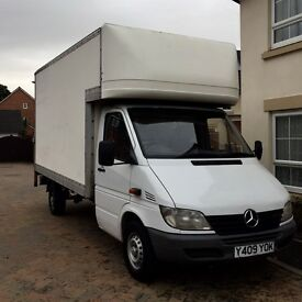 Mercedes Sprinter 311 CDi Luton Tail lift Van 2001 Y Reg Beautiful Condition 12 months MOT
