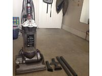 DYSON DC33 Stubborn UPRIGHT VACUUM CLEANER with accessories