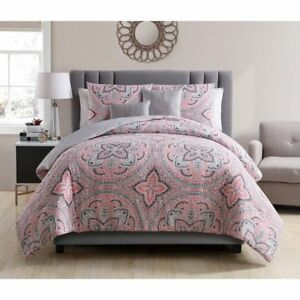 VCNY HOME ALLISON REVERSIBLE COMFORTER 5 PC SET KING
