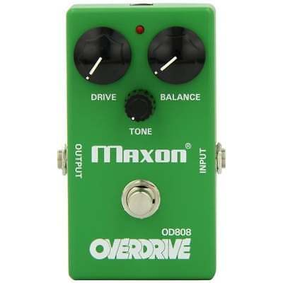 Maxon OD808 Overdrive Reissue Series Drive Pedal