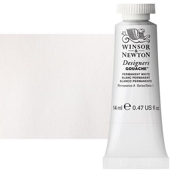 Winsor & Newton Designers Gouache 14 ml Tube - Permanent White