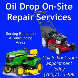 Onsite lawn mower repairs and lawnmower tune ups