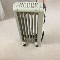 Plug-in heater, perfect for Yukon weather!!