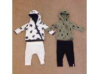 Boys hoodie & trouser sets 0-3