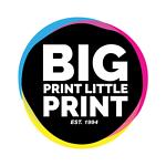 Big Print Little Print