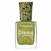 Green Crackle Nail Polish