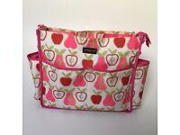 Momymoo changing pink bag girls pram