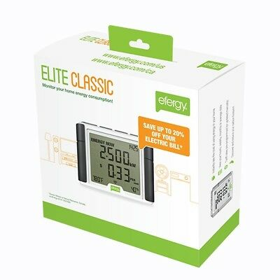 Efergy Elite Classic 4.0 Wireless Home Energy Monitor Electricity Smart Meter