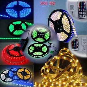 LED LIGHT RGB MULTI COLOR LED LIGHT STRIP 5050 WATER PROOF WITH REMOTE AND CONTROLER