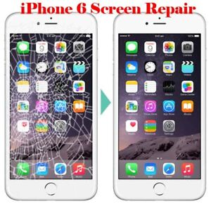 iPhone 5 6 cell phone screen glass repair
