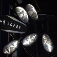 Nancy Lopez clubs new  asking 125