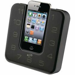 The iLive iCP391 Alarm Clock iPod/iPhone Speaker Dock with FM Radio