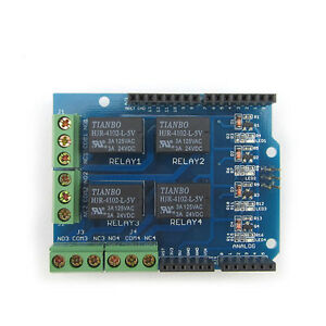 5V 4 Channel Relay Module Arduino Four Channel Relay Shield for Arduino UNO R3