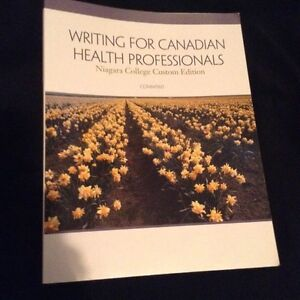 Writing for Canadian health professionals