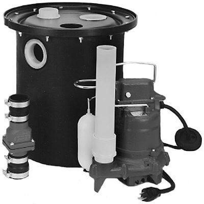 Zoeller 105-0010 - 13 Hp M53 Remote Sinkdrain Pump System W Vertical Flo...