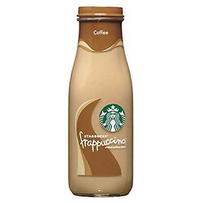 Starbucks Frappuccino Coffee Drink 9.5 oz Goggles Bottle - Pack of 12