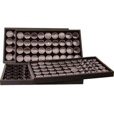172 Black Foam Gem Jars & 4 Travel Display Trays