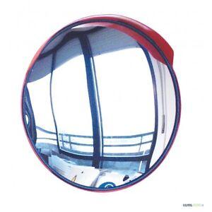 Specchio Stradale Parabolico Cm 40 Con Piastra Per
