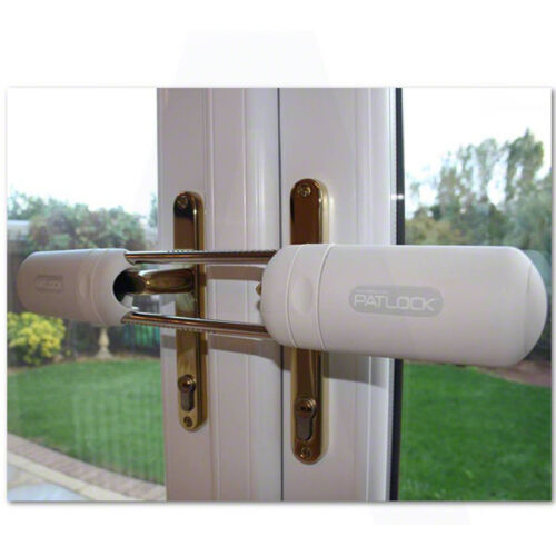 Patlock security lock for french doors conservatories for Upvc french door locks