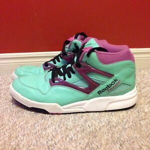 Reebok Pump Omni Lite (rare mint violet - size 12, like new) London Ontario image 2