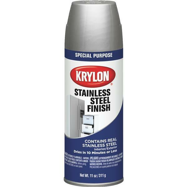 Krylon 2400 Krylon Stainless Steel Finish; Stainless Steel;