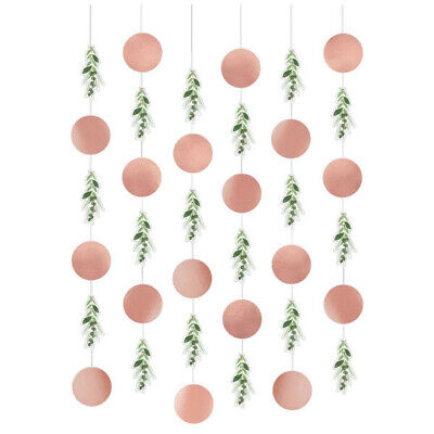 LOVE AND LEAVES Bridal Shower Hanging Strings Wall Wedding Party Decoration Rose Decorating Bridal Shower