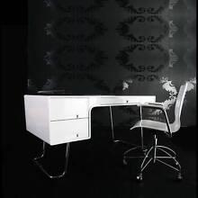 [NEW] Hi High Gloss Computer Desk - White (120 x 60 x 75cm) Oakleigh East Monash Area Preview
