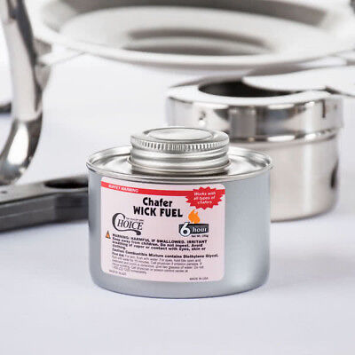 24 - Choice 6 Hr Wick Chafing Dish Fuel With Safety Twist Cap Free Ship US 48