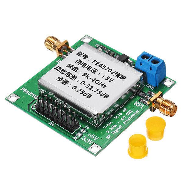 PE43702 9K-4GHz 0.25dB Stepping Precision 31.75dB Digital RF Attenuator Module