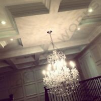 Beamed Coffered Waffle Ceilings Design Installation 416-670-8000