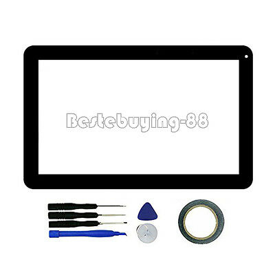US New Touch Screen Digitizer Panel for iRULU eXpro X1 Plus 10.1 Inch Tablet