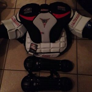 Lacrosse goalie chest protector size 1