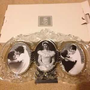 Mikasa - crystal picture frame - new in box Cambridge Kitchener Area image 1