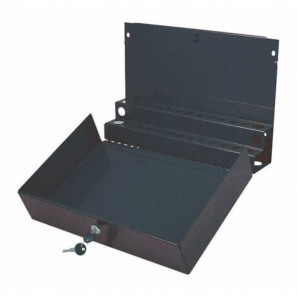 SUNEX TOOLS 8011BK Locking ScrewDriver/Pry Bar Holder,L,Blk