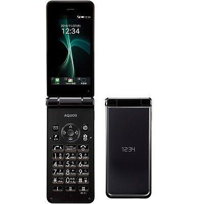 SOFTBANK SHARP 601SH AQUOS KEITAI 2 ANDROID FLIP PHONE UNLOCKED NEW SH-01J 501SH