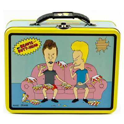 Beavis and Butthead Metal Tin Lunch Box Rockin NEW Carrier Carry All Toys Bag